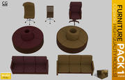 家具包1 3d model