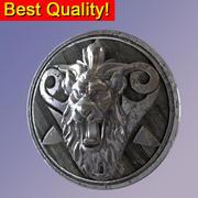 古代中世纪狮子盾 3d model