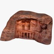 Oude ruïnes van Petra 3d model