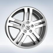 Dodge Rim modelo 3d