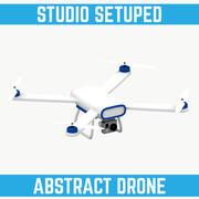 Drone Graphic Element 3d model