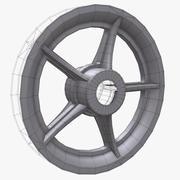 Wheel 8 Rim 3d model