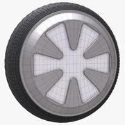 车轮16 3d model