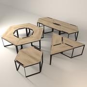 modulaire tafel 3d model