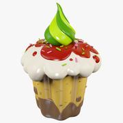Muffin Cake 3d model
