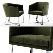 Cadeira Meridiani Lolyta 3d model