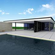 Barcelona Pavillon 3d model