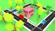 町郵便局 3d model