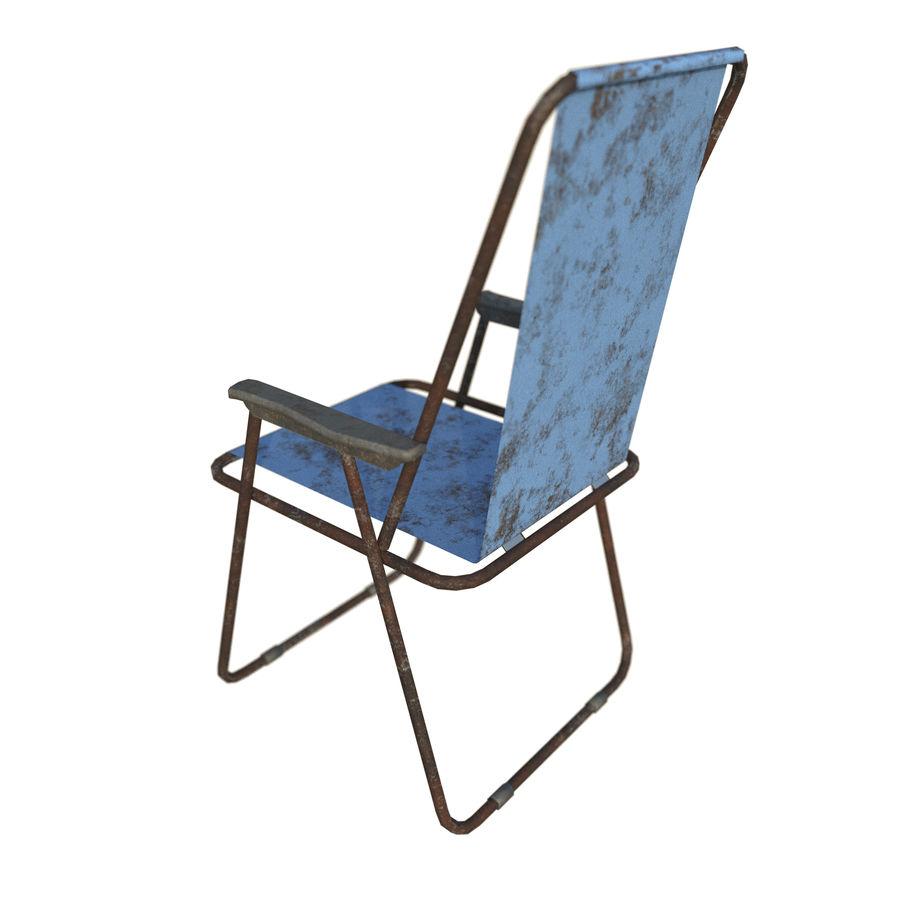 Sedia da campeggio royalty-free 3d model - Preview no. 12