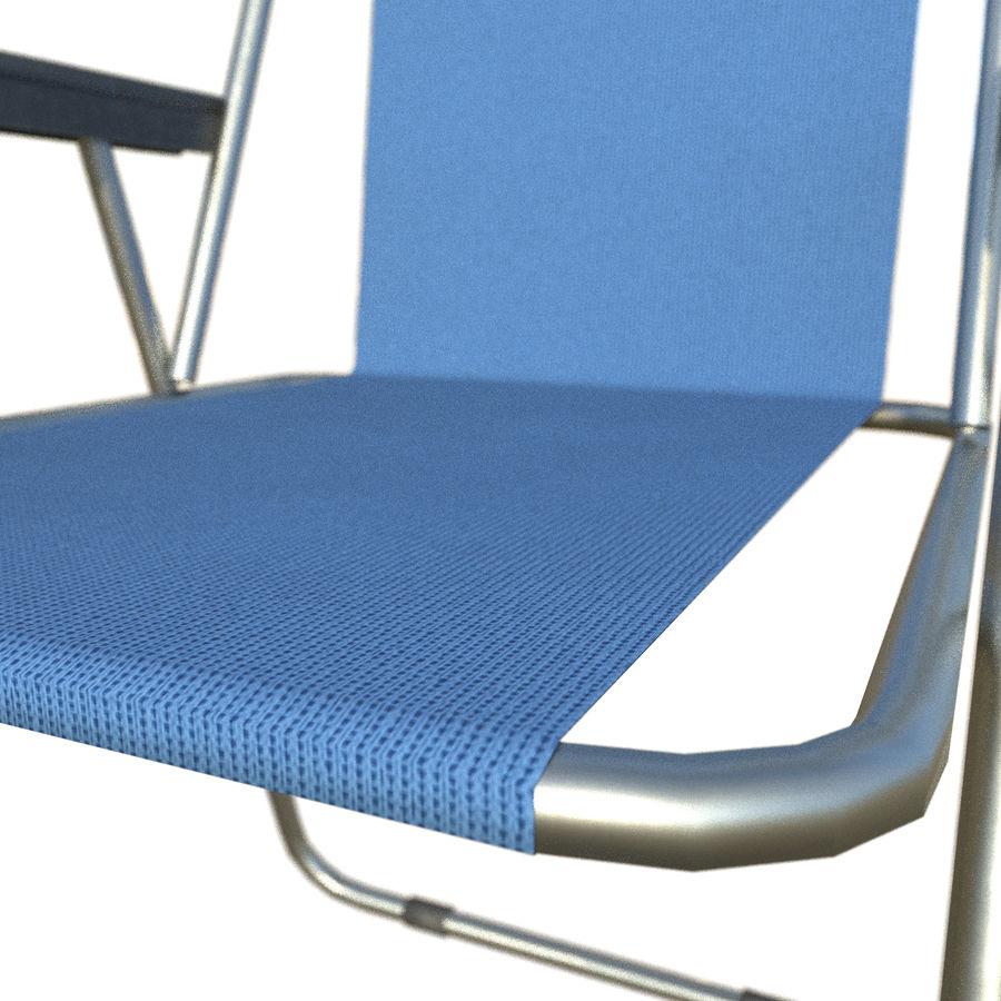 Sedia da campeggio royalty-free 3d model - Preview no. 17