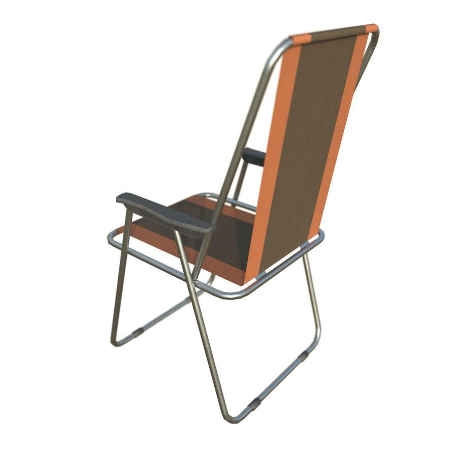 Sedia da campeggio royalty-free 3d model - Preview no. 11