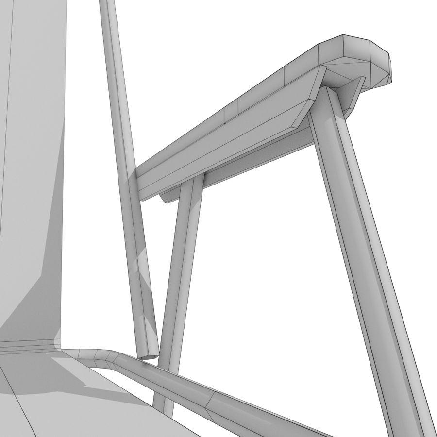 Sedia da campeggio royalty-free 3d model - Preview no. 19
