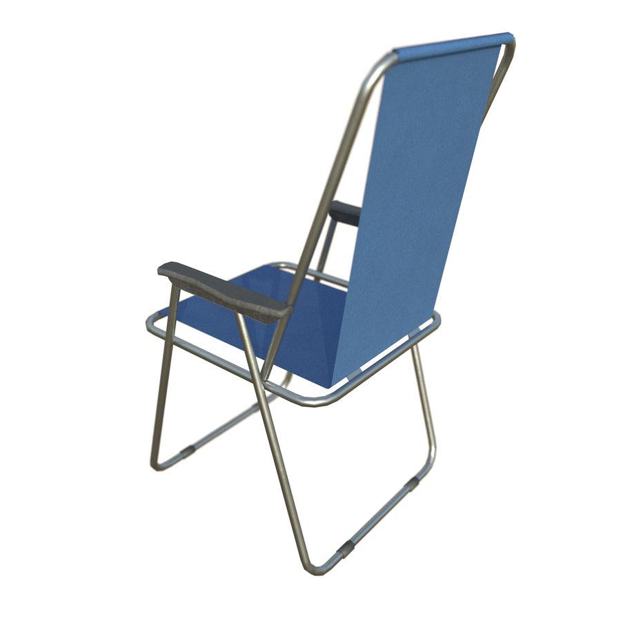 Sedia da campeggio royalty-free 3d model - Preview no. 13