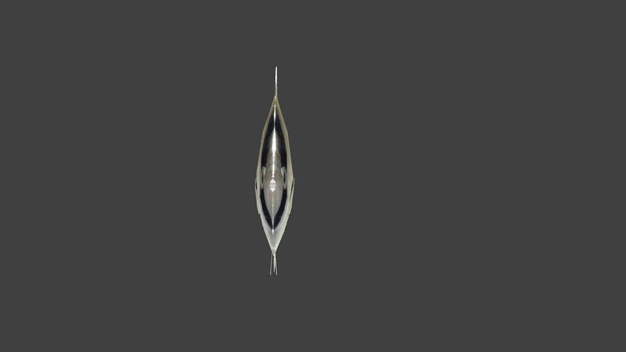 Vagabund Falterfisch royalty-free 3d model - Preview no. 4
