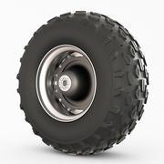 Wheel rover 3d model