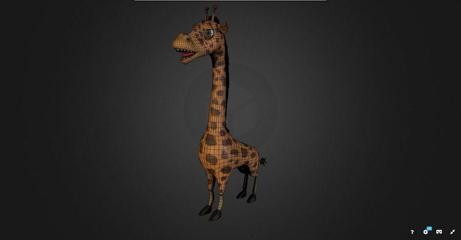 Żyrafa royalty-free 3d model - Preview no. 2