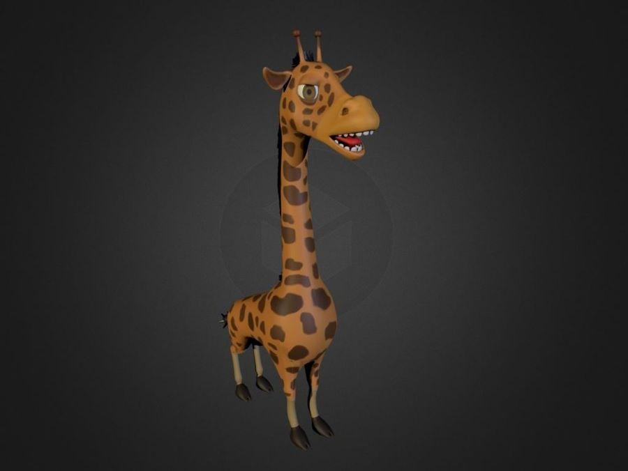Żyrafa royalty-free 3d model - Preview no. 1