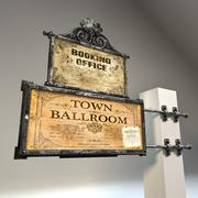 WallSign01 3d model