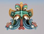 Hindu God Elephant 3d model