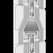 科幻面板 3d model