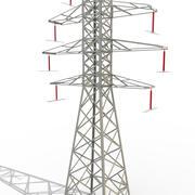 Power Lines 3 3d model