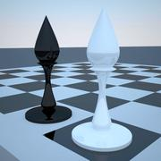 elephant chess 3d model