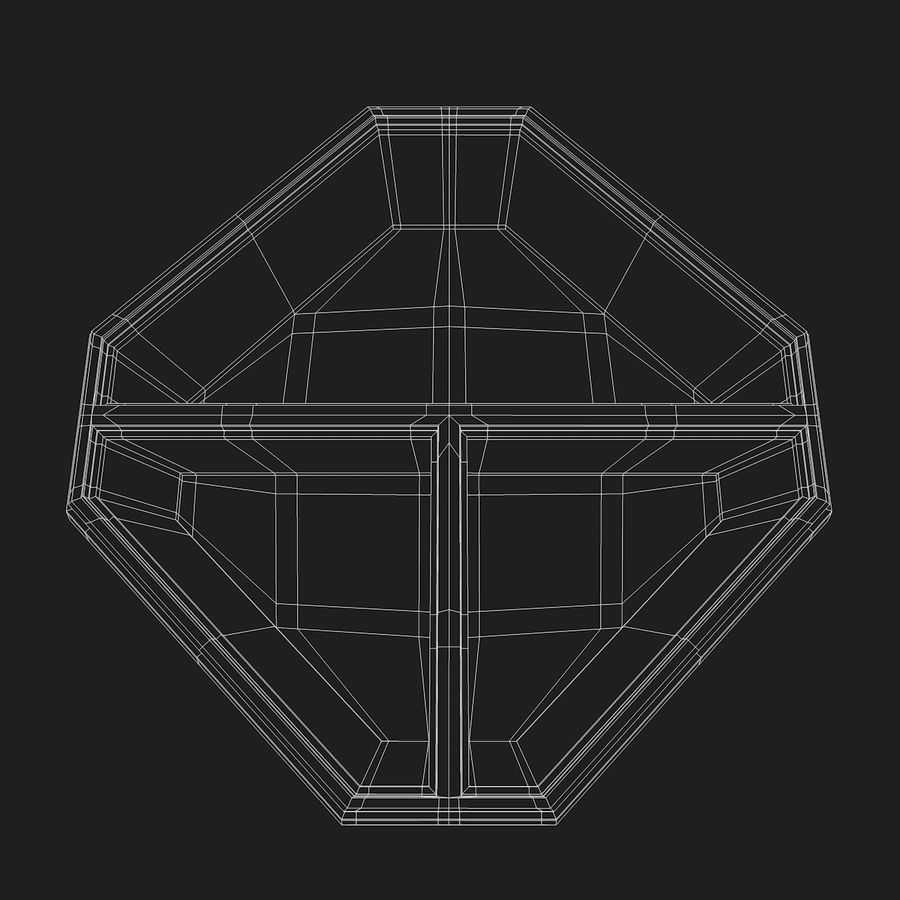 Mat container royalty-free 3d model - Preview no. 7