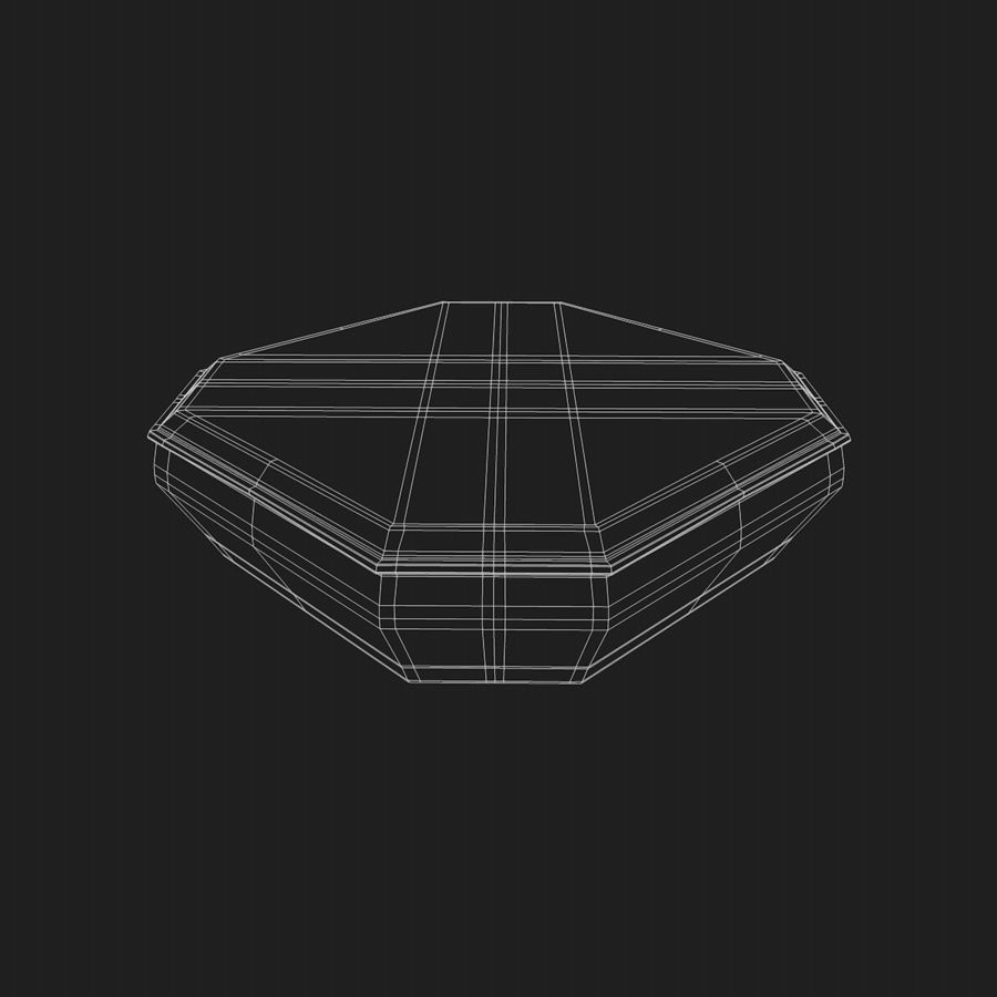 Mat container royalty-free 3d model - Preview no. 3