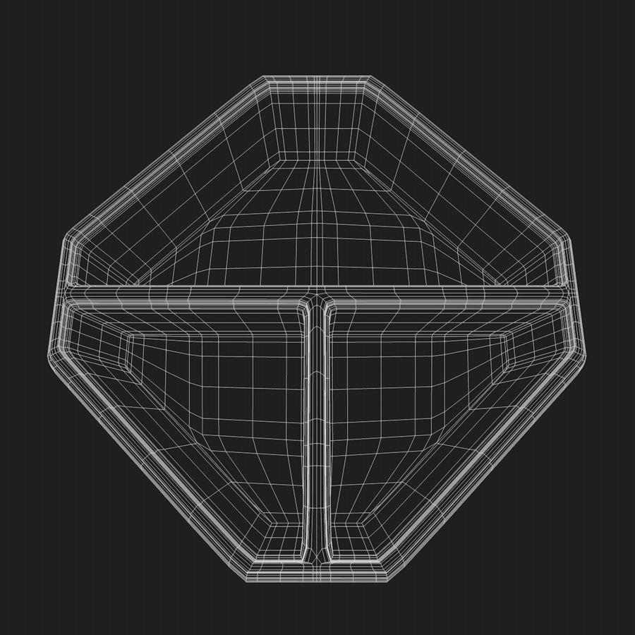 Mat container royalty-free 3d model - Preview no. 8