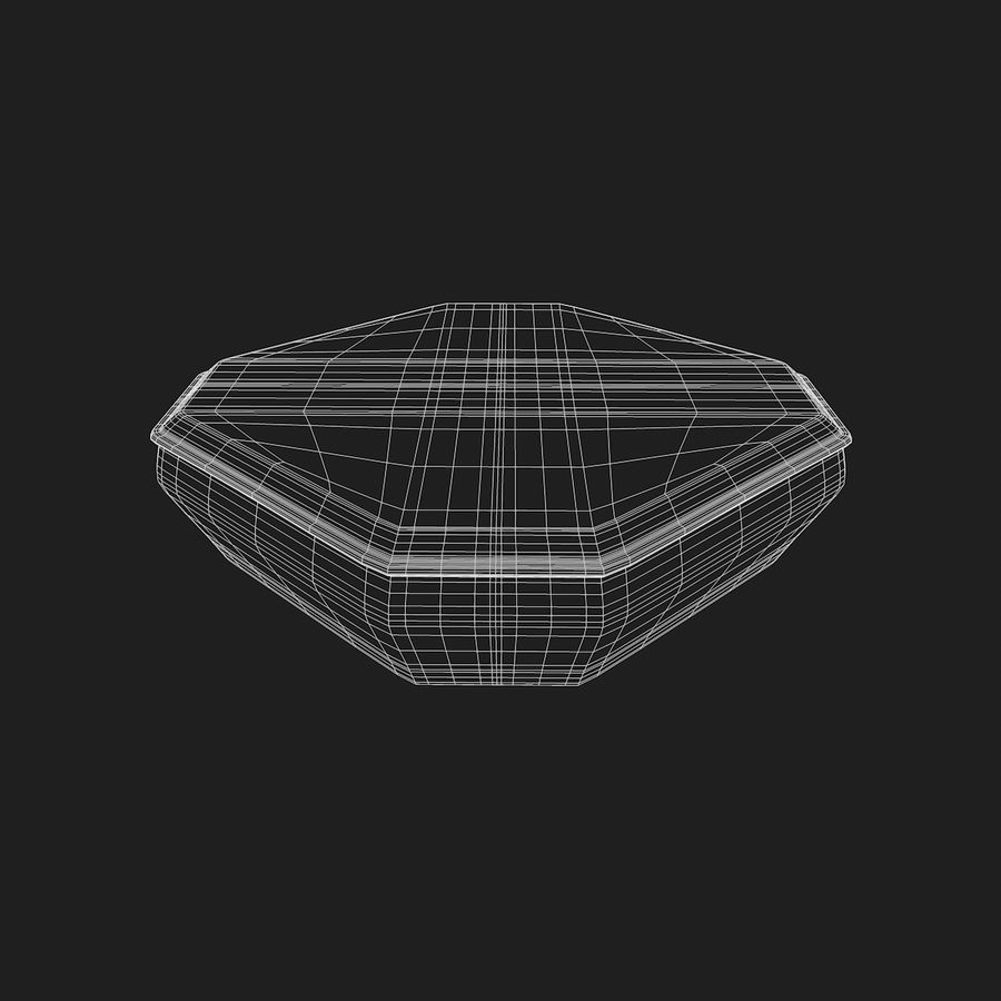 Mat container royalty-free 3d model - Preview no. 4