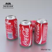 Напиток может Кока-Кола 330мл 3d model