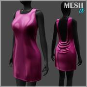 Pink Dress 3d model