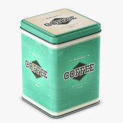 Tennbehållare # 01 kaffe 3d model