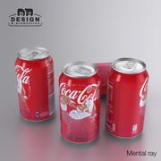 Bebida Coca Cola Natal 330ml 3d model