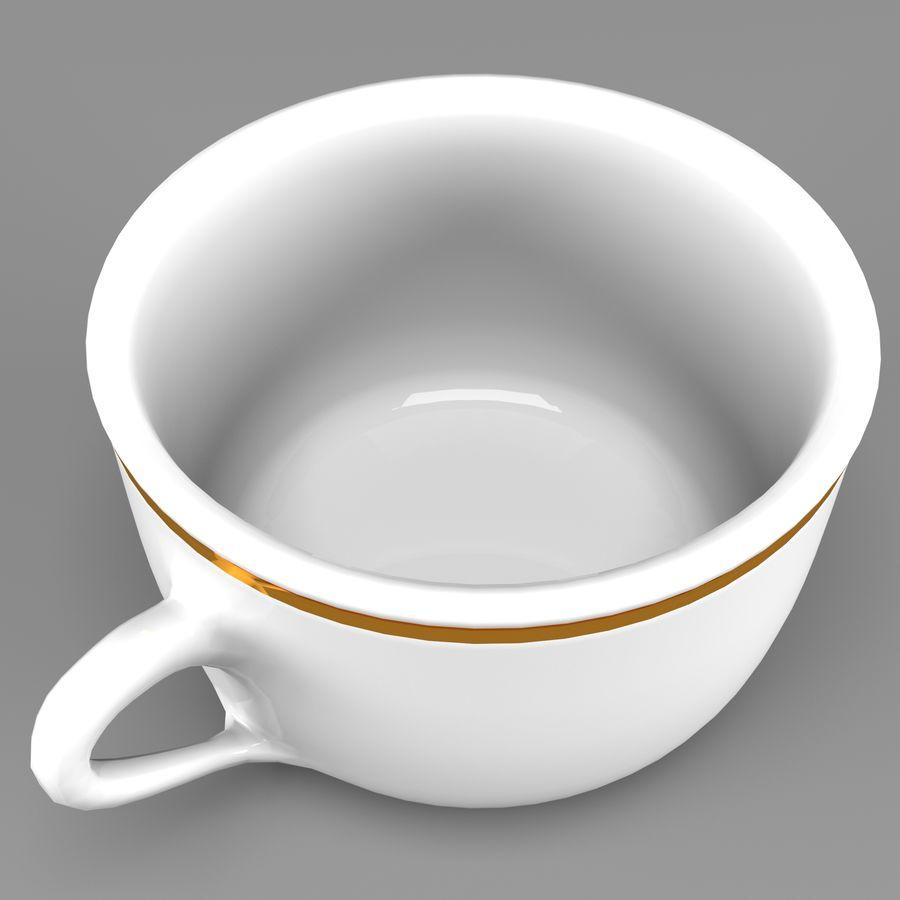 Taza de café royalty-free modelo 3d - Preview no. 4