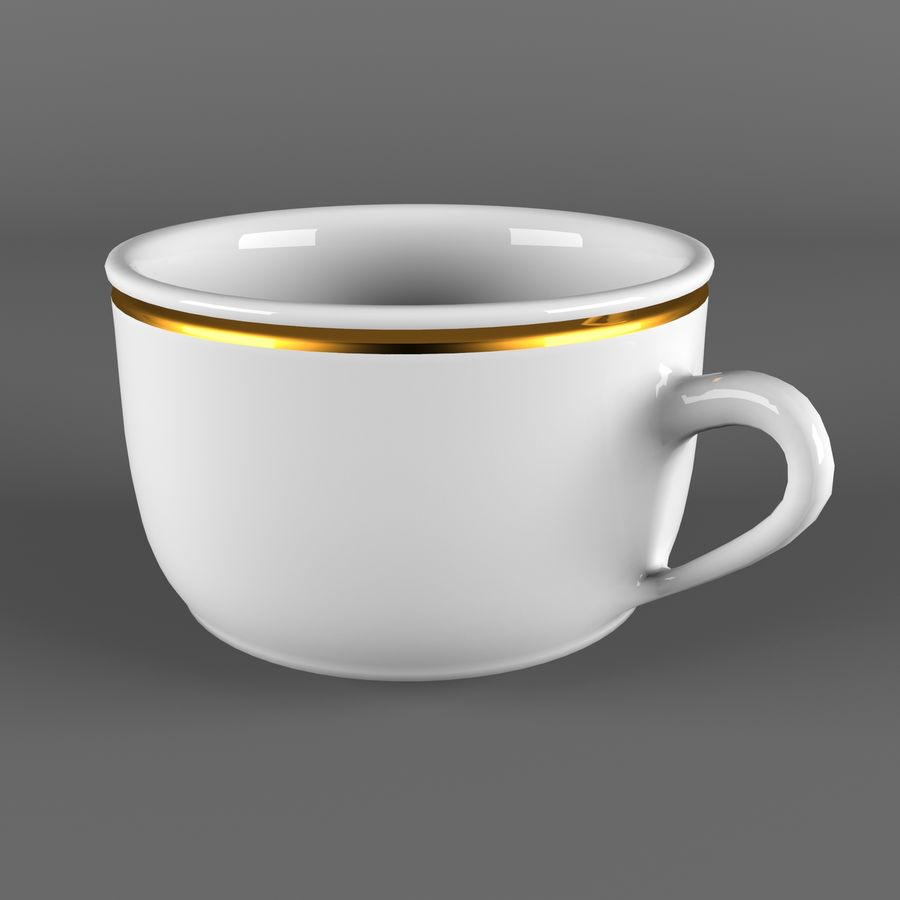 Taza de café royalty-free modelo 3d - Preview no. 2
