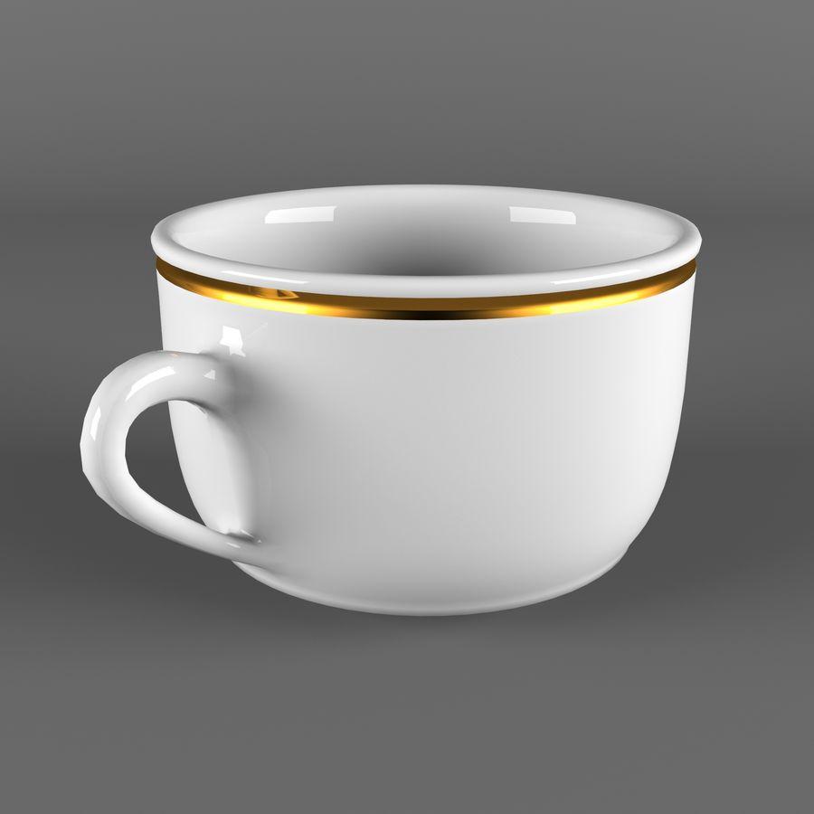 Taza de café royalty-free modelo 3d - Preview no. 3