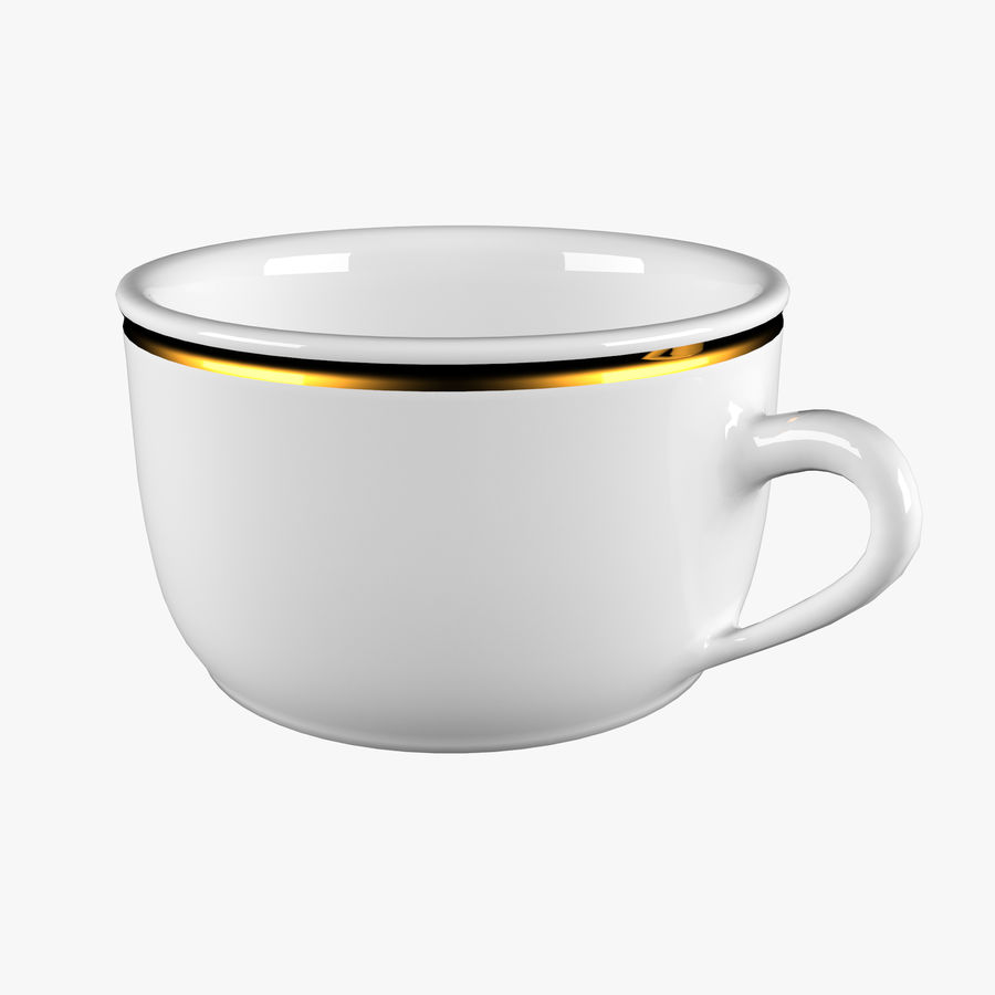 Taza de café royalty-free modelo 3d - Preview no. 1