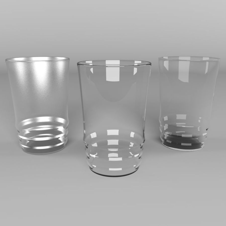 Glas royalty-free 3d model - Preview no. 3