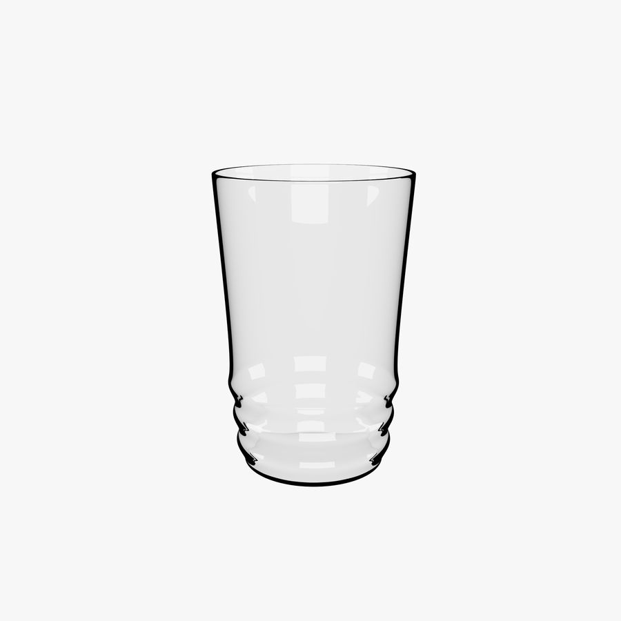 Glas royalty-free 3d model - Preview no. 1