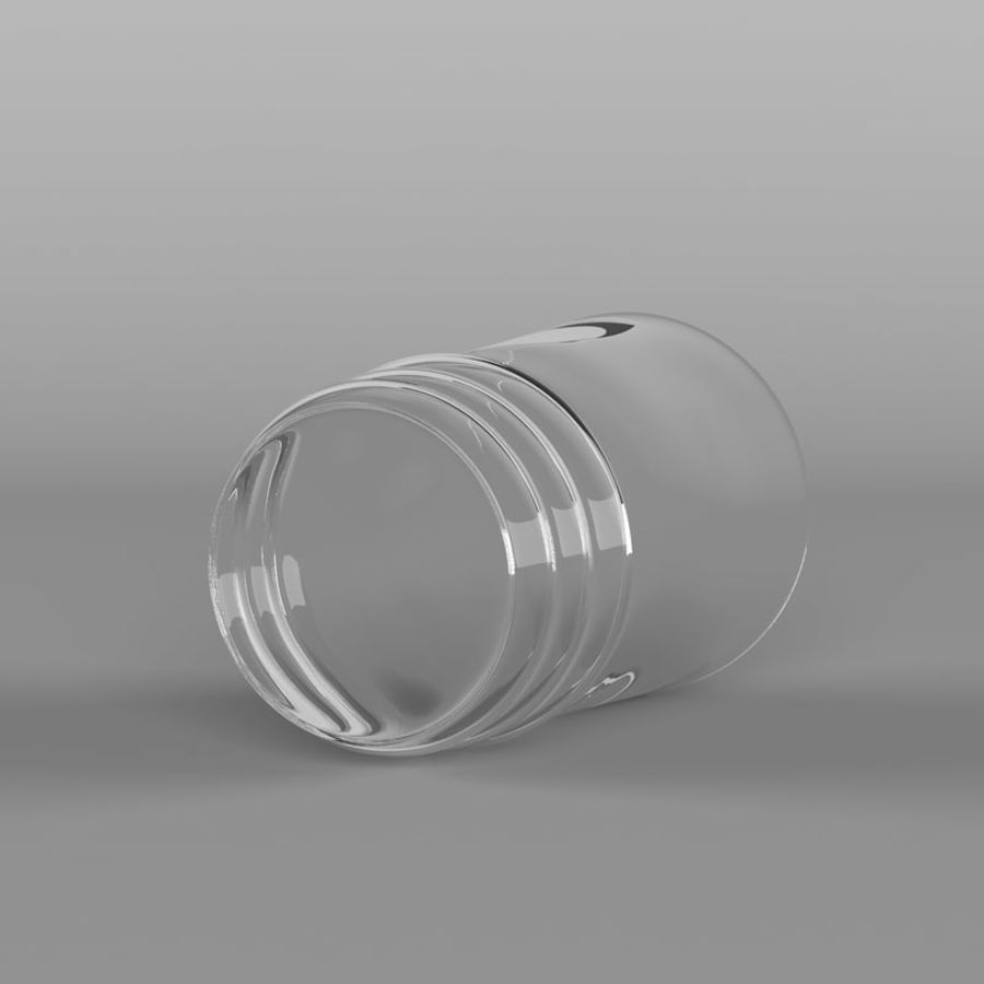 Glas royalty-free 3d model - Preview no. 9