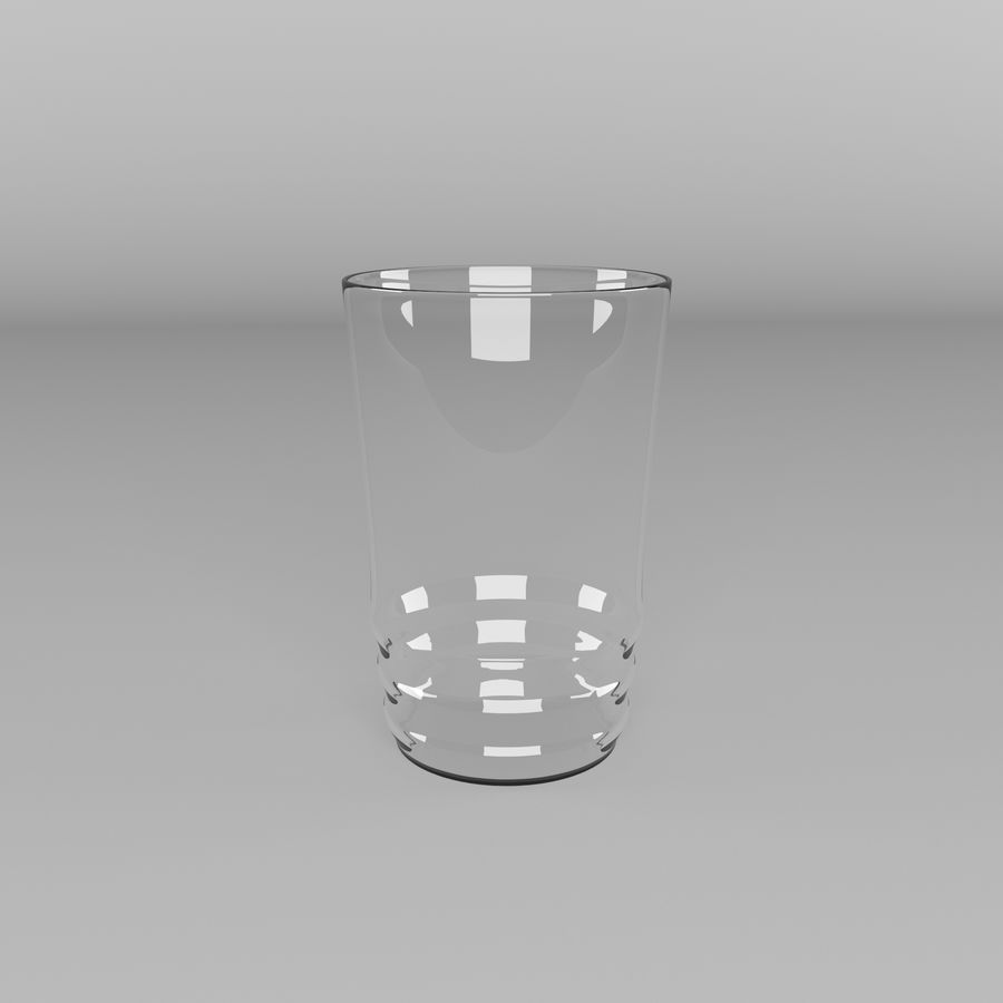 Glas royalty-free 3d model - Preview no. 2