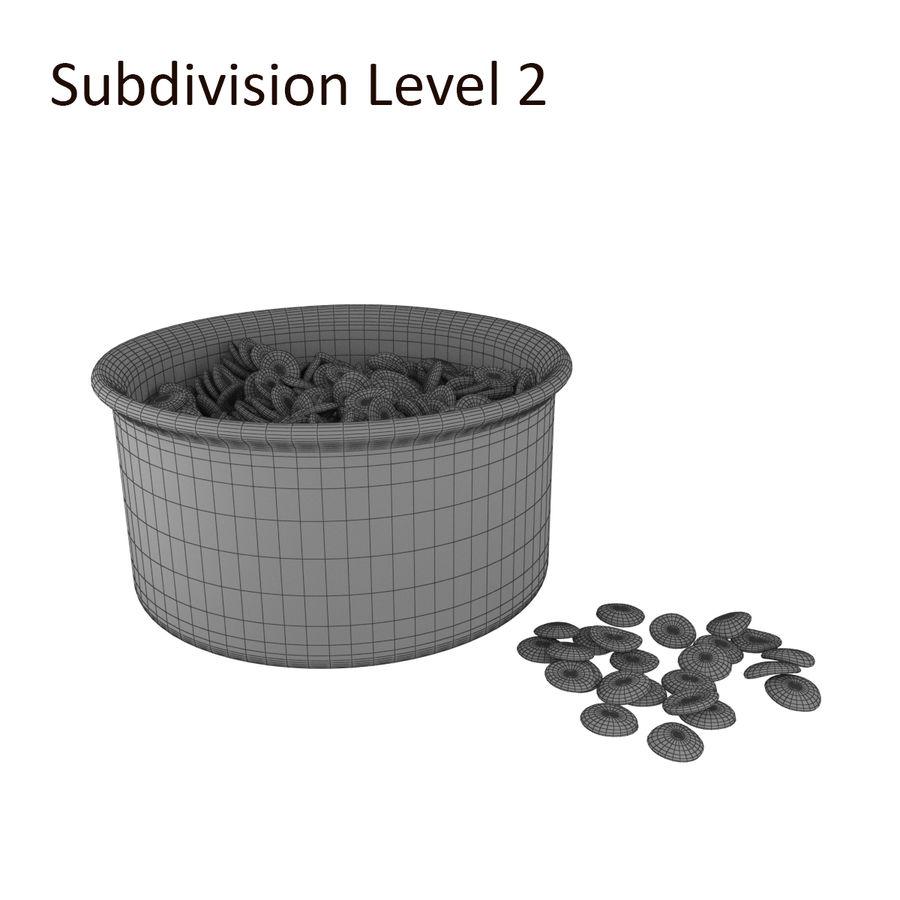 Dog Bowl royalty-free 3d model - Preview no. 7