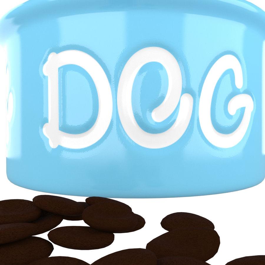 Dog Bowl royalty-free 3d model - Preview no. 3