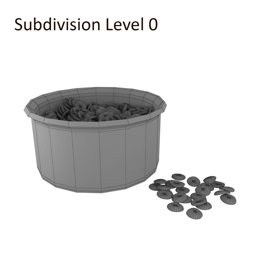 Dog Bowl royalty-free 3d model - Preview no. 5