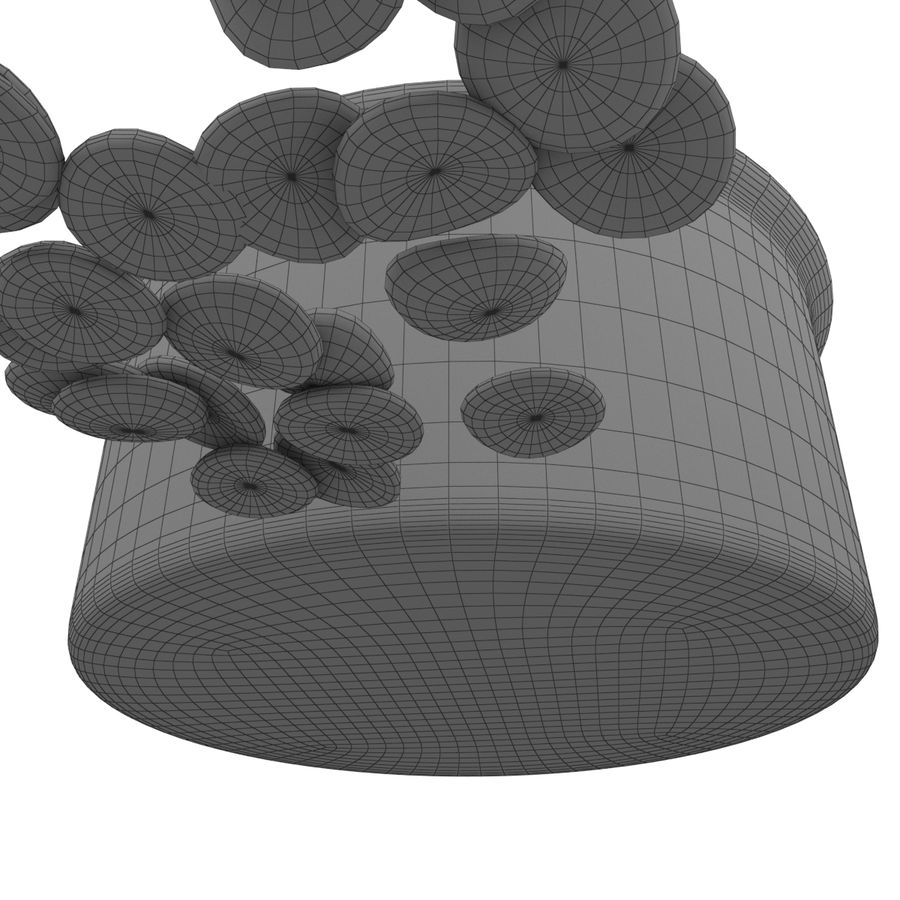 Dog Bowl royalty-free 3d model - Preview no. 9