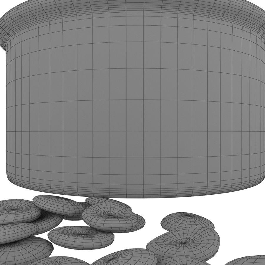 Dog Bowl royalty-free 3d model - Preview no. 10