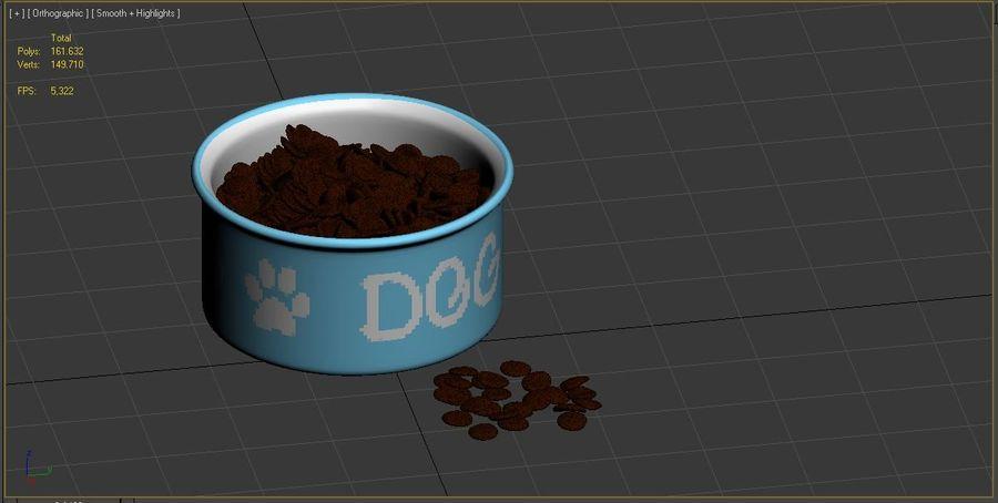 Dog Bowl royalty-free 3d model - Preview no. 11