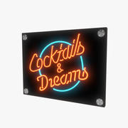 Cocktails ondertekenen v3 3d model