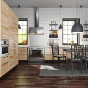 IKEA METOD cozinha cinzas torhamn 3d model